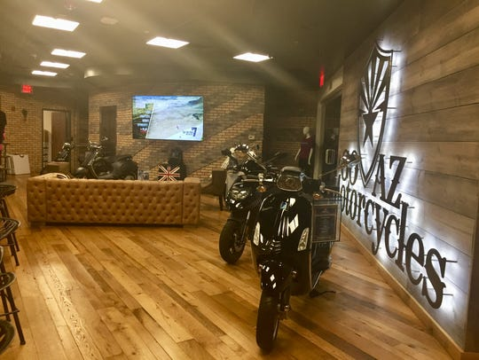 Go AZ Motorcycles opened in Peoria's P83 district in