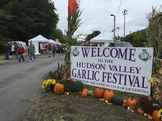 Thousands of people typically attend the two-day annual Hudson Valley Garlic Festival each year in Saugerties.