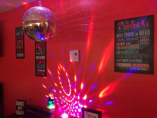 A Room to Heal recently transformed Tiernan and Brennan's bedroom into a superhero and dance party haven.