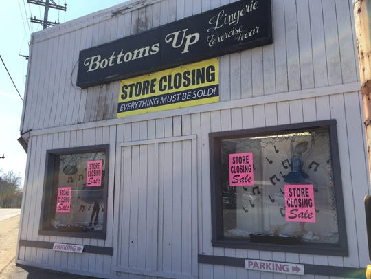 Bottoms Up in Okemos on April 12, 2018. The store will