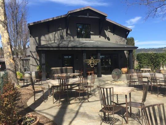 Honig Vineyard & Winery sits on the floor of Napa Valley
