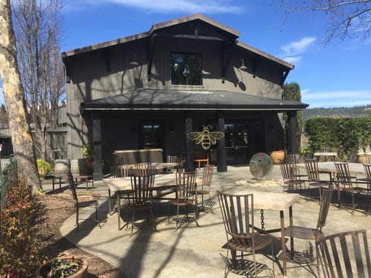 Honig Vineyard & Winery sits on the floor of Napa Valley