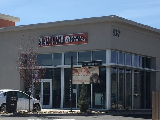 Blaze Pizza, set to open in the Sprouts center in South