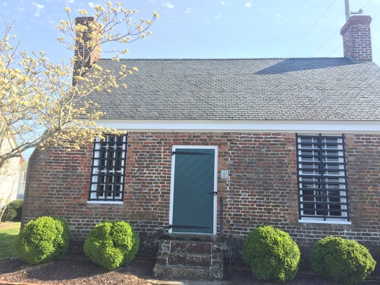 The Debtors Prison in Accomac, Virginia.