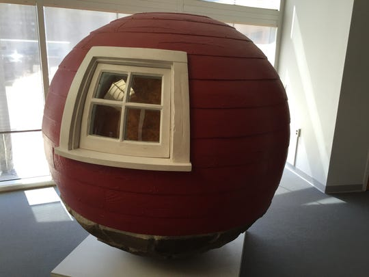 "Phish fans will recognize Lars Fisk's ""Barn Ball"" in the lobby of the University of Vermont's Fleming Museum of Art."