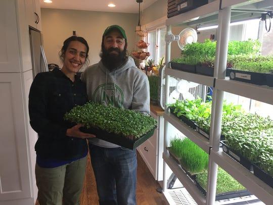 Green Oak Township farmer Dale Maskill is the new market