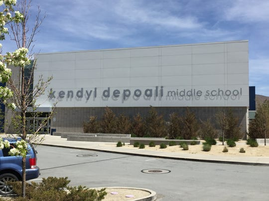 Depoali Middle School on Tuesday, April 24.