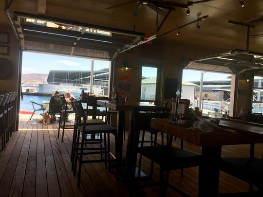 The new and expanded Scorpion Bay Grill restaurant