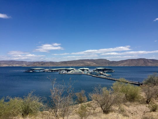 Scorpion Bay in Lake Pleasant.