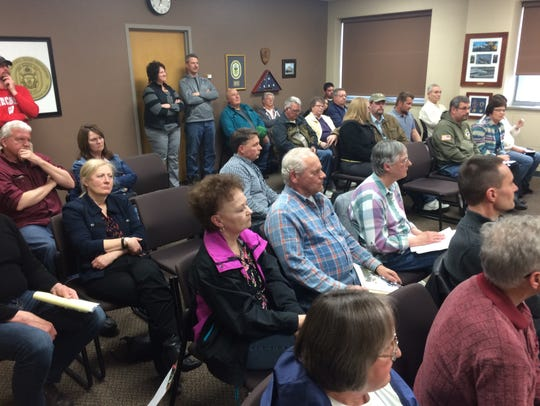 Dozens of residents expressed concerns about planned