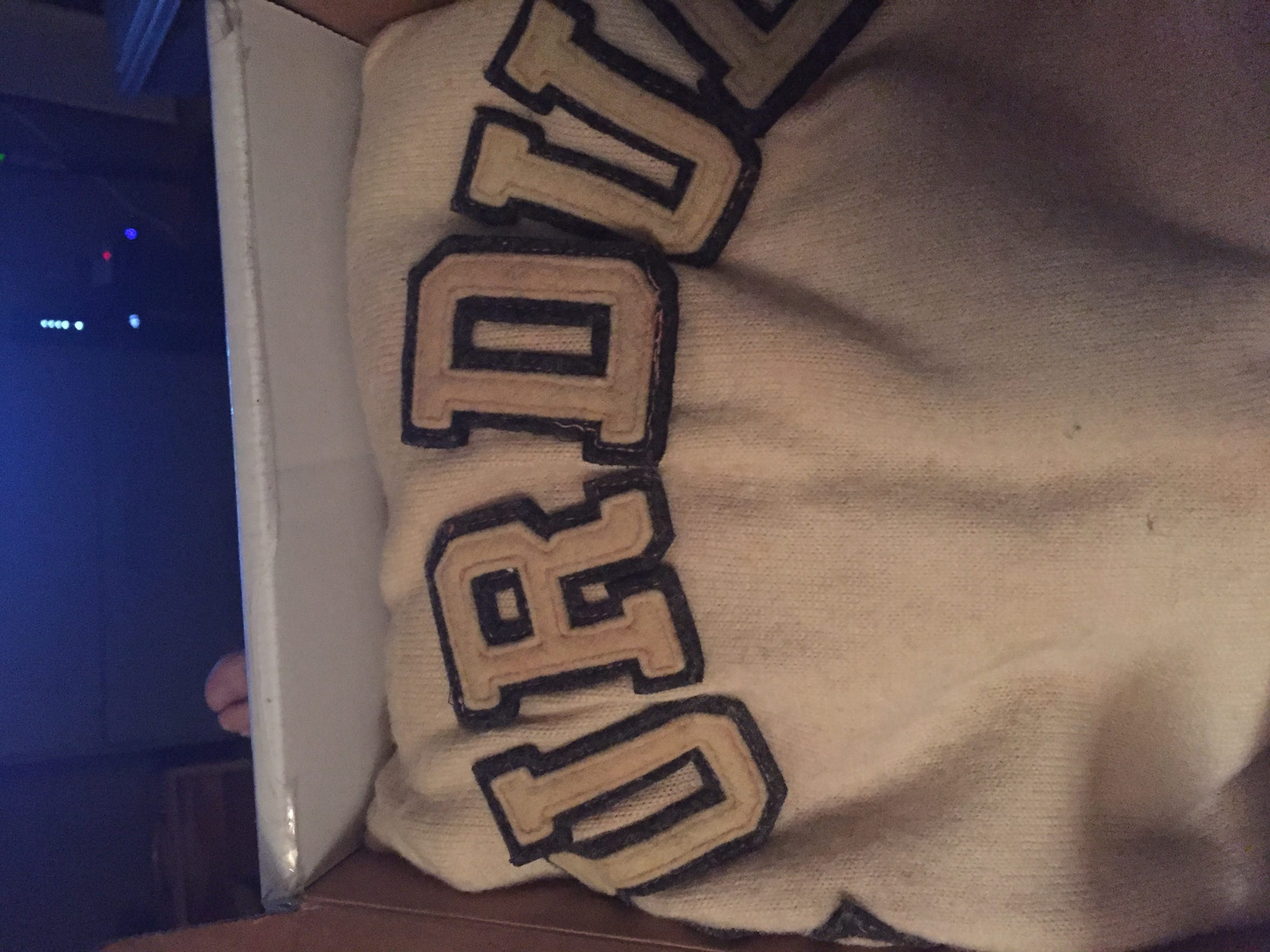 A 1930-32 era John Wooden jersey from his Purdue playing