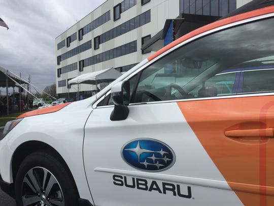 Subaru of America on Friday showed off its new headquarters off Admiral Wilson Boulevard in Camden.