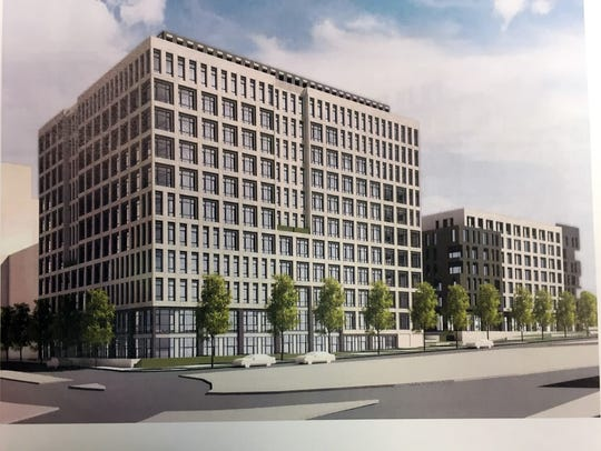 Rendering of former AT&T building to be converted into