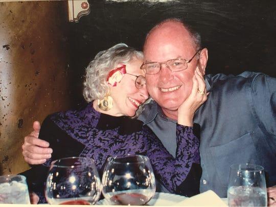 Sue Clark-Johnson and Brooks Johnson