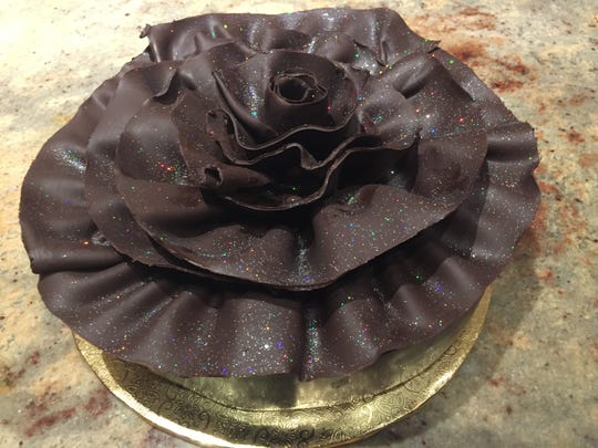 This chocolate marquise, a rich mousse cake, will be served at the final Sunday brunch, on Mother's Day May 13, in Sterling's in the Silver Legacy. The buffet has long been known for its desserts.