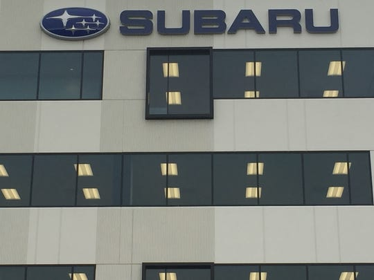 The new Subaru headquarters on Admiral Wilson Boulevard in Camden is the former site of the Sears building.