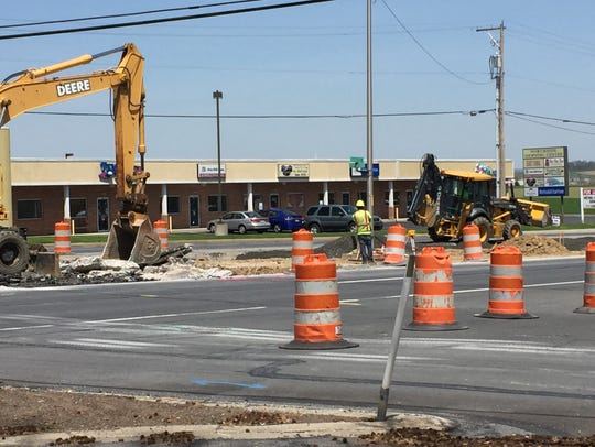 Some construction zones, such as the Route 422 Safety