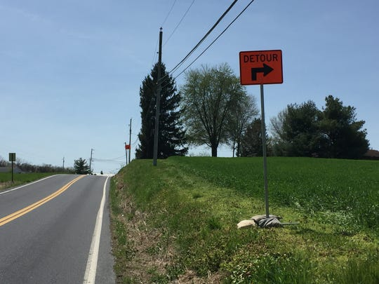 Expect plenty of detour signs like these, especially