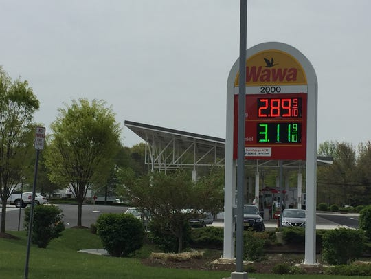 A Wawa gas station is among the buildings proposed for a 32-acre site at the corner of Route 35 and Deal Road.