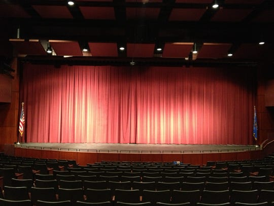 The Performing Arts Center stage