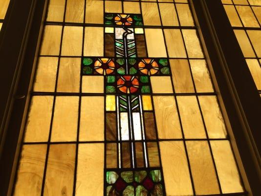 Friends Memorial Church window