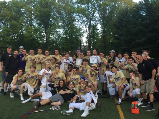 The Monroe boys lacrosse team won its second GMC Tournament