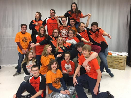 The Plymouth High School Jolly Pranksters will perform in a comic improvisation show May 17