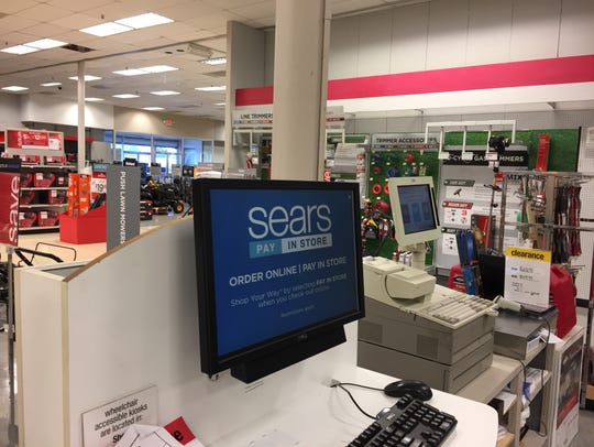 Sears is closing its Titusville store next month.