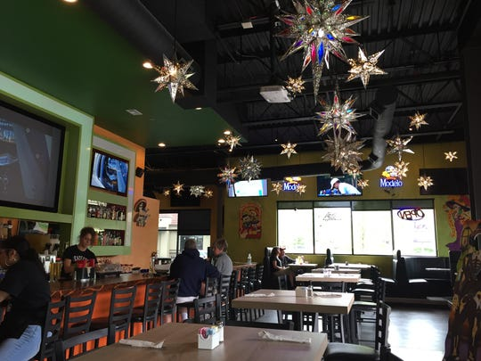 The interior of Tecate Grill, 1501 W. Elizabeth St.