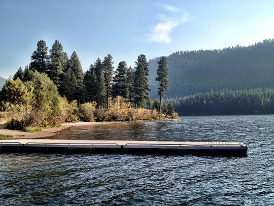 Salmon Lake State Park is a popular spot in the Seeley-Swan
