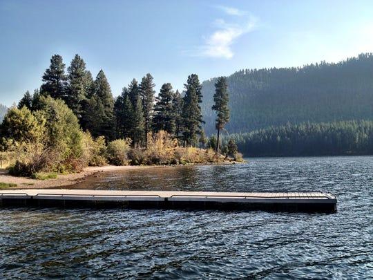 Salmon Lake State Park.