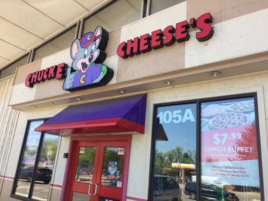 Chuck E. Cheese and Fort Collins Furniture and Mattress at the corner of Prospect Road and College Avenue will have to move to make way for a proposed six-story hotel.