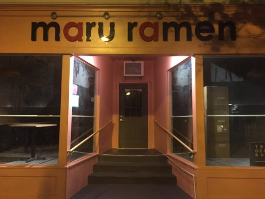 Maru Ramen is located on 512 West State St. in Ithaca.