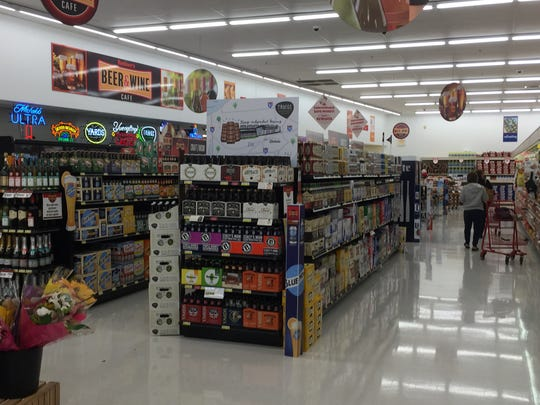 A peek inside the beer and wine cafe already located inside a Redner's Warehouse Markets in Palmyra. Similar models are used in different grocery stores such as Giant.
