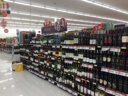 A peek inside the beer and wine cafe already located inside the Redner's Warehouse Markets in Palmyra, a potential model for the Fredericksburg location.