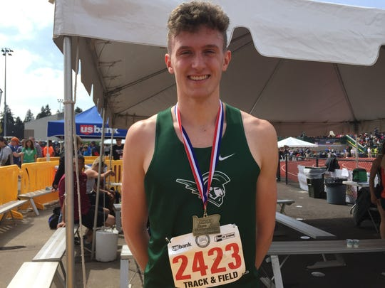 West Salem's Jacob Miller won the state championship