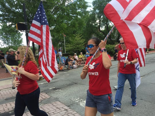At Newark's annual Memorial Day parade, hundreds from