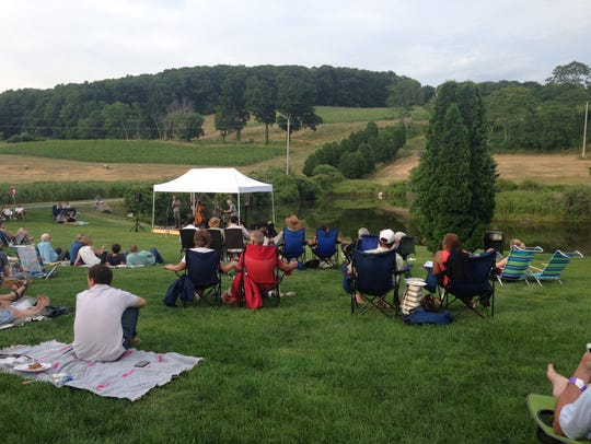 Enjoy an outdoor concert this summer, such as this
