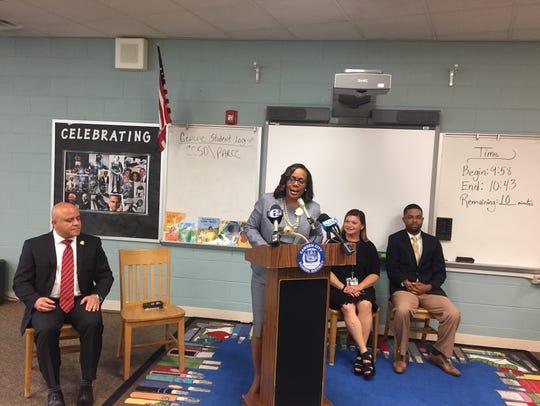 Camden Schools deputy superintendent Katrina McCombs