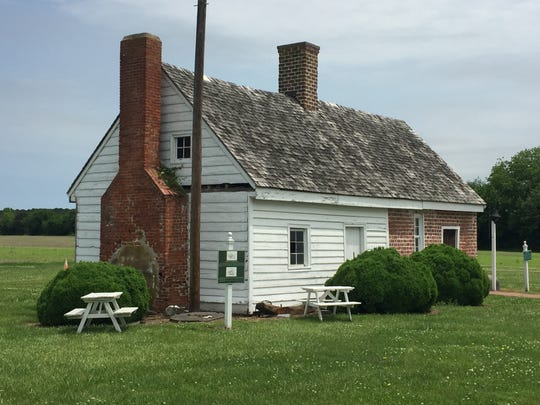 The 1700s quarter kitchen on the grounds of the Barrier Islands Center in Machipongo, Virginia is badly in need of repairs. The building is slated to be rehabilitated starting in fall 2018, and will be used for food-related exhibits and demonstrations.