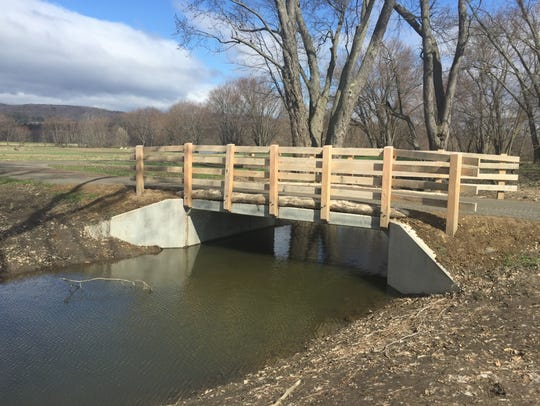 Earlier this week the Wallkill River Section - three-quarters