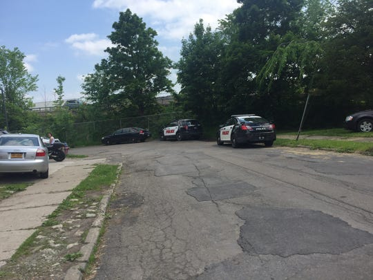 Binghamton Police were investigating a reported shooting on Monday.