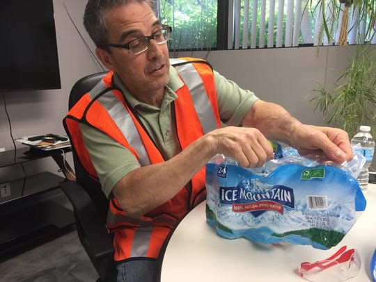 Mike Csapo, general manager of RRRASOC, the Recycling