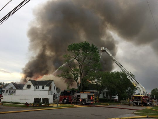 The Western Golf and Country Club caught fire Friday.