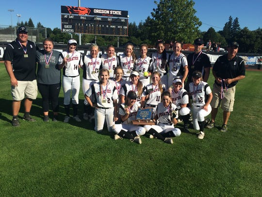 Dayton's softball team won the Class 3A state championship