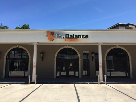The Balance Training facility where police said the