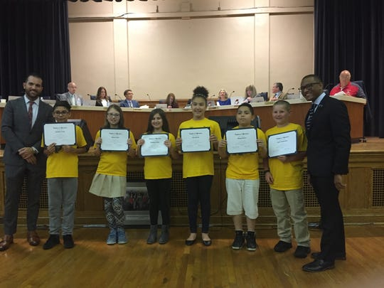 D'Ippolito Elementary School students earned certificates