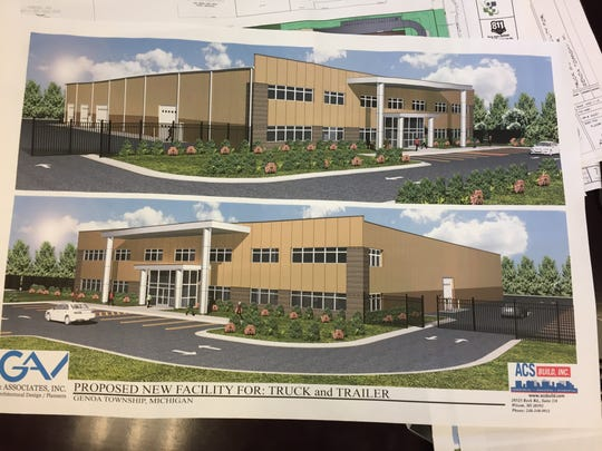 Architectural renderings of a planned 30,000-square-foot