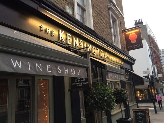 Kensington Wine Rooms exterior