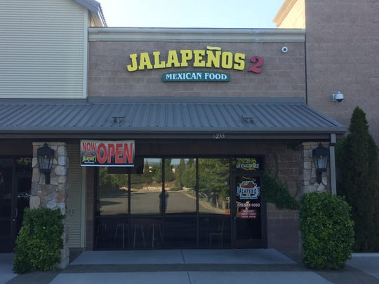 Jalapeños 2 Mexican food recently opened in the Saint Mary's center on Sharlands Avenue in Northwest Reno.